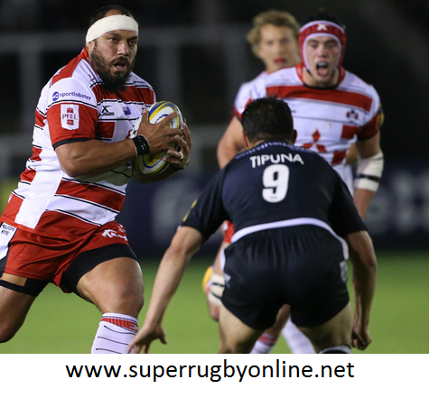 Gloucester vs Newcastle Falcons 2016 Live Online