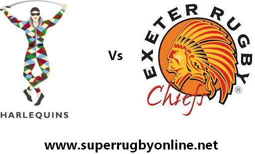 Harlequins vs Exeter Chiefs rugby live