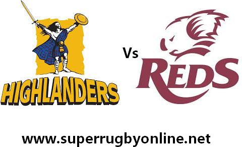highlanders vs reds Live
