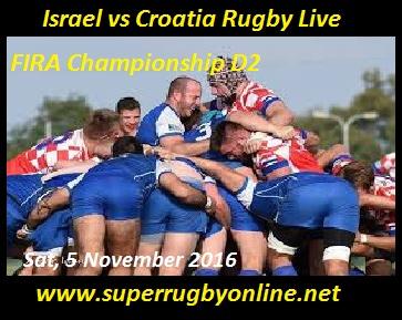 Israel vs Croatia live