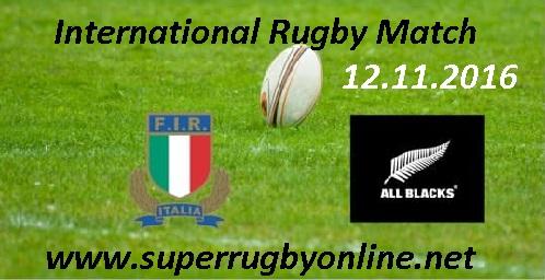 Italy vs New Zealand