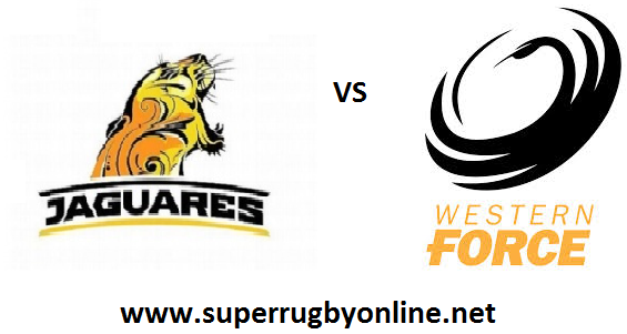 Western Force vs Los Jaguares live