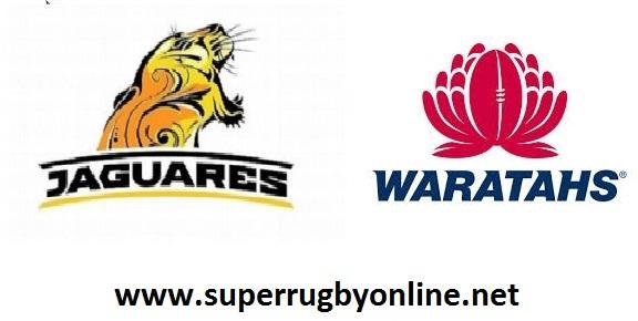 Jaguares vs Waratahs live