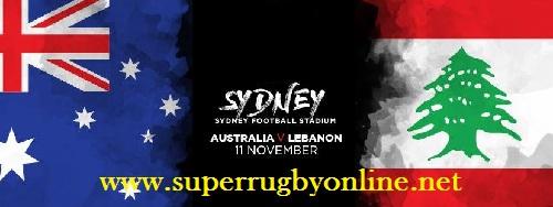 Lebanon vs Australia