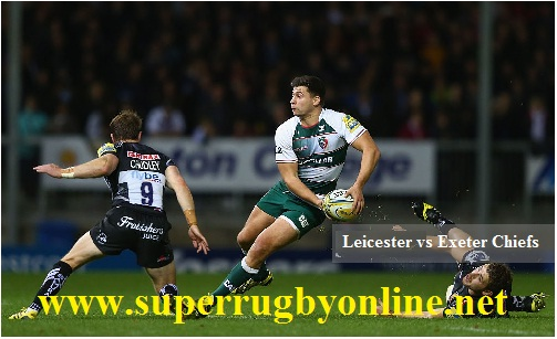 Leicester Tigers vs Exeter Chiefs live