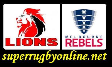 Melbourne Rebels vs Lions live