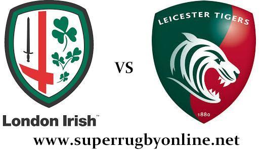 London Irish vs Leicester Tigers