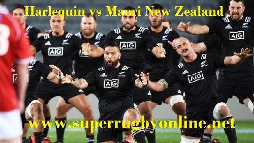Maori All Blacks vs Harlequin LIVE