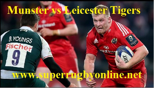 Munster vs Leicester Tigers Live
