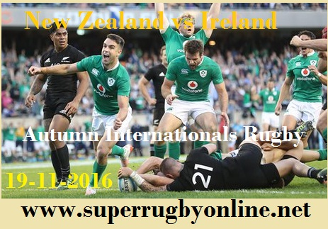 New Zealand vs Ireland Stream live