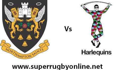 Northampton Saints vs Harlequins live