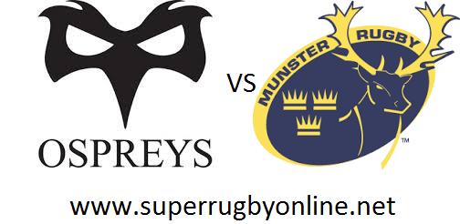 Ospreys vs Munster live stream