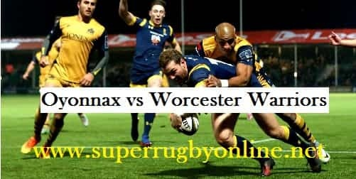 Oyonnax vs Worcester Warriors
