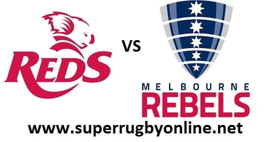 Queensland Reds vs Melbourne Rebels