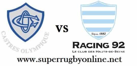 Racing 92 vs Castres Olympique