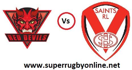 Live St Helens VS Salford Red Devils Coverage