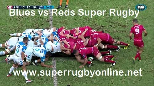 Blues vs Queensland Reds live telecast