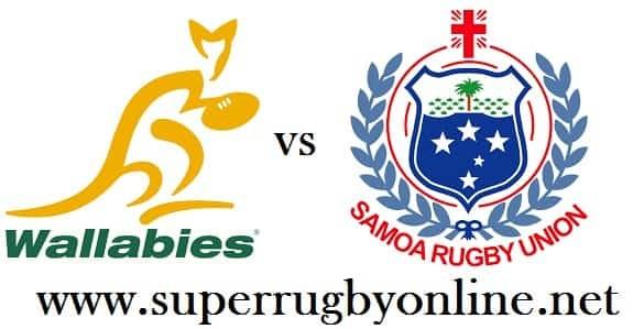 Samoa vs Australia