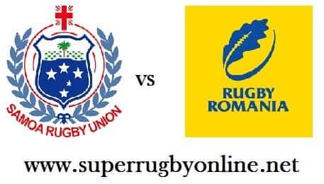 Samoa vs Romania