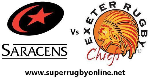 Saracens vs Exeter Chiefs Live