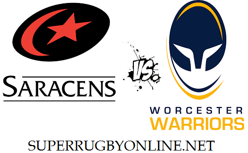 Worcester Warriors vs Saracens live