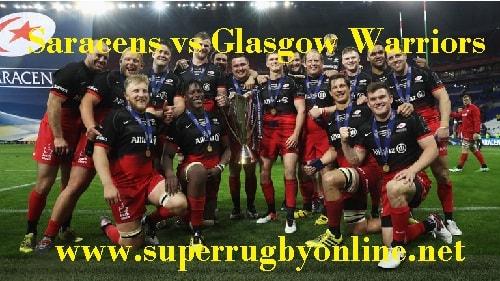 Saracens vs Glasgow Warriors live