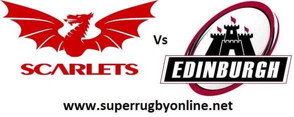 Scarlets vs Edinburgh live