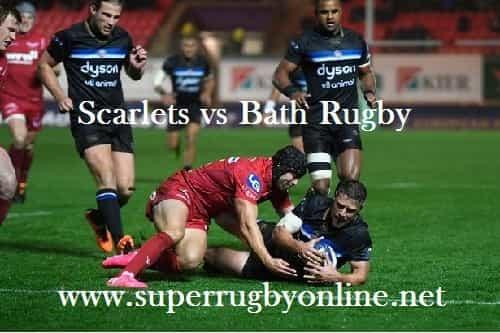 Scarlets vs Bath Rugby