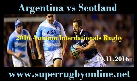 Scotland vs Argentina live