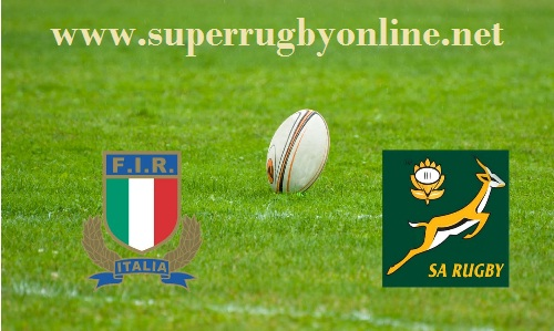 South Africa vs Italy stream online