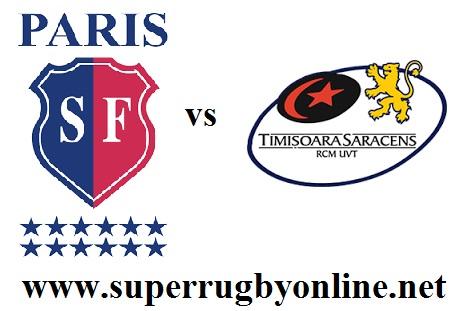 Stade Francais Paris vs Timisoara Saracens live