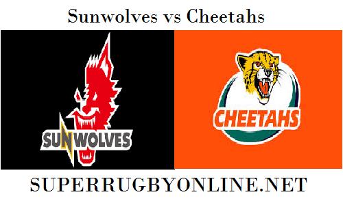 Cheetahs vs Sunwolves rugby live