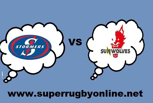 Stormers VS Sunwolves live