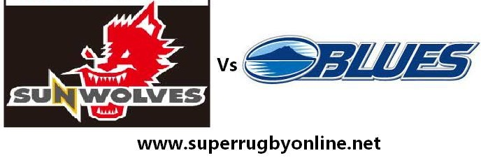 Blues vs Sunwolves rugby live