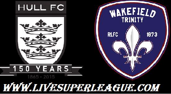 Live Hull FC VS Wakefield Trinity Broadcast