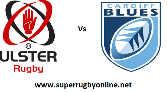 Ulster vs Cardiff Blues live
