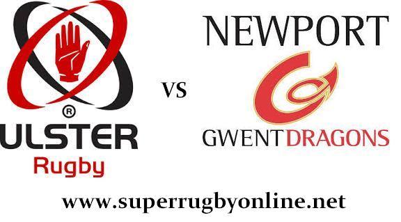Ulster vs Dragons live