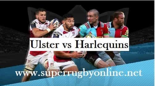 Ulster vs Harlequins