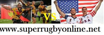USA vs Papua New Guinea