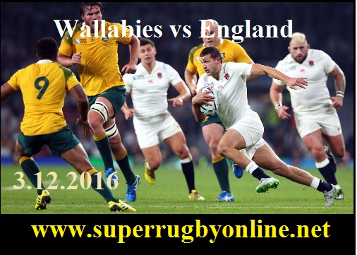 Wallabies vs England live