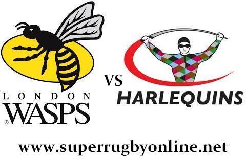 Wasps vs Harlequins live