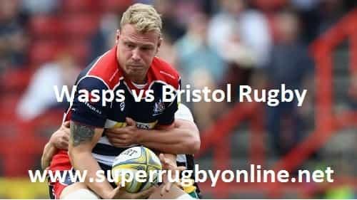 Wasps vs Bristol Rugby live
