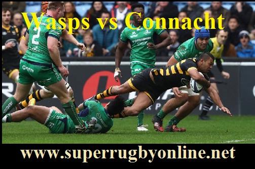 Wasps vs Connacht live