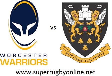 Worcester Warriors vs Northampton Saints live